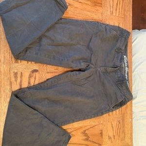 Eddie Bauer flannel lined pants